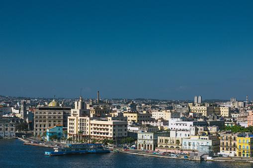 Boulevard「Cityscape of the Cuban capital, beautiful Havana.」:スマホ壁紙(16)