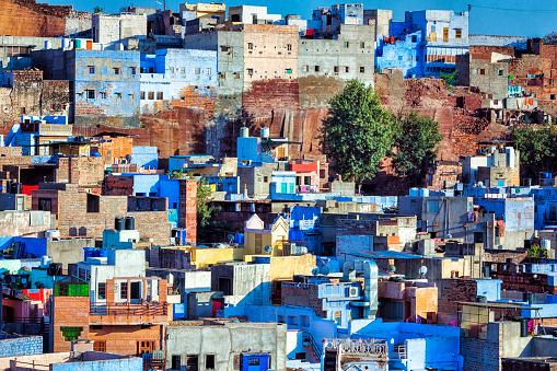 Jodhpur「Cityscape of the Blue City - Jodhpur, India」:スマホ壁紙(11)