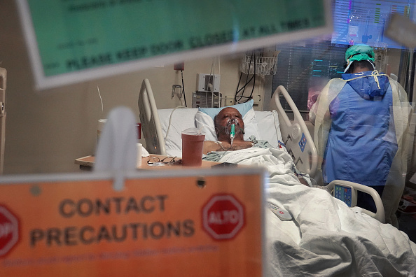 Recovery「Chicago's Roseland Community Hospital Handles Spike In Covid Patients」:写真・画像(1)[壁紙.com]