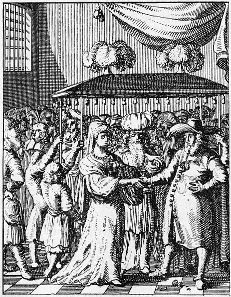 Utrecht「Jewish marriage under wedding canopy Fro」:写真・画像(8)[壁紙.com]