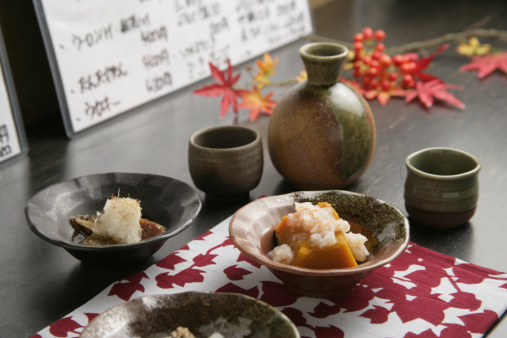 Sake「Sake and appetizer」:スマホ壁紙(7)