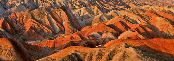 UNESCO World Heritage Site「Zhangye Danxia Landform, Gansu, China」:スマホ壁紙(16)