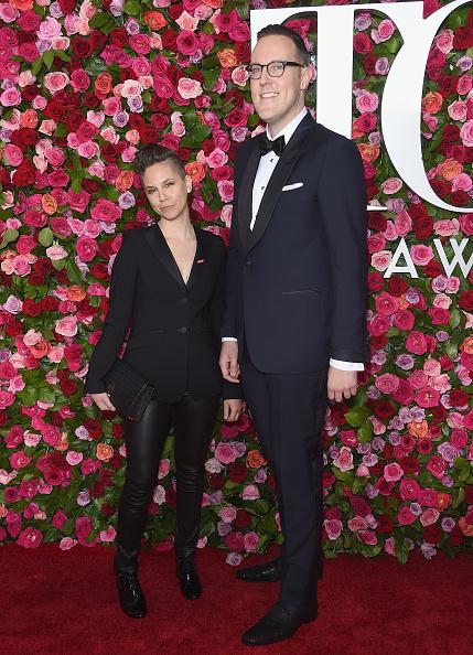 革パンツ「72nd Annual Tony Awards - Arrivals」:写真・画像(9)[壁紙.com]