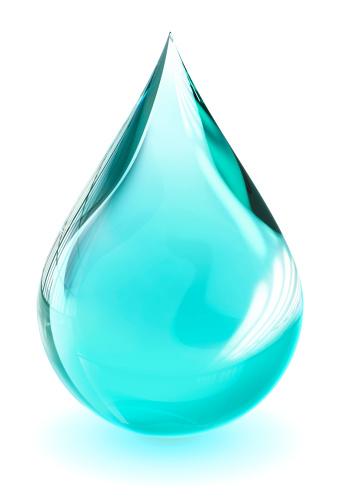Droplet「が渦巻く水滴(クリッピングパス)」:スマホ壁紙(16)