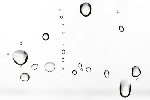 透明「Water droplt」:スマホ壁紙(10)