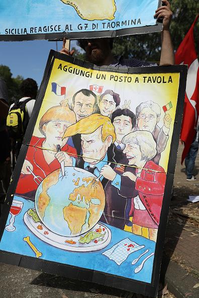 Patriotism「Demonstrators Protest Against G7 Summit」:写真・画像(7)[壁紙.com]