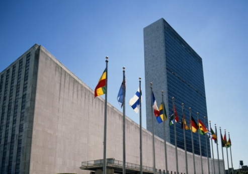 United Nations Building「USA,New York,United Nations Building」:スマホ壁紙(9)