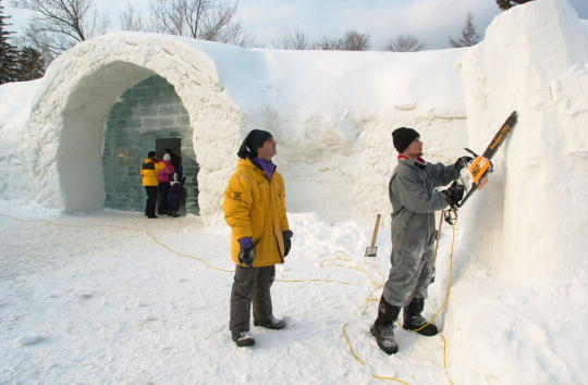 Ice Sculpture「Ice Hotel Quebec-Canada」:写真・画像(18)[壁紙.com]