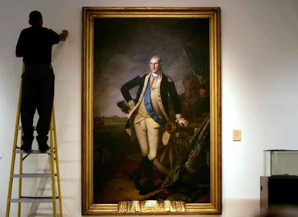 ポートレート「Christie's Unveils Rare George Washington Portrait」:写真・画像(13)[壁紙.com]
