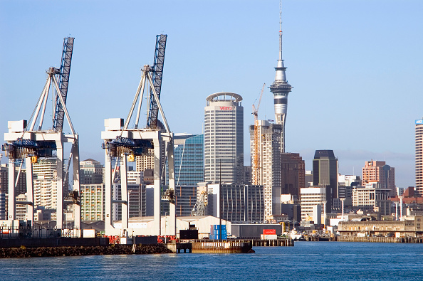 Harbor「Docks and Harbour view of City of Auckland, New Zealand」:写真・画像(14)[壁紙.com]