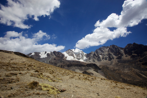 Escarpment「Cloud formations above the Cordillera Real peaks, Andes Mountains, Bolivia, South America」:スマホ壁紙(14)
