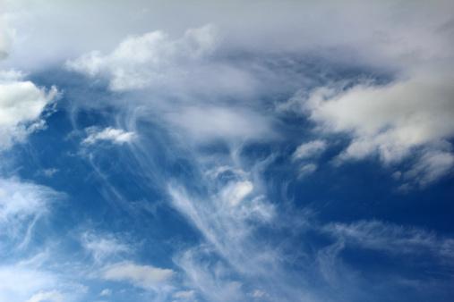 Human Face「Cloud formations - face on sky」:スマホ壁紙(17)