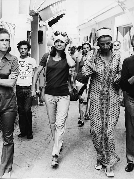 1970-1979「Jackie Kennedy Onassis In Capri」:写真・画像(11)[壁紙.com]