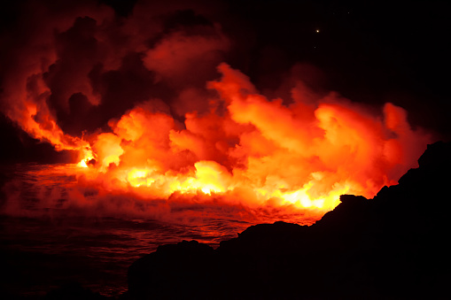 UNESCO「Halemaumau Crater, Kilauea Caldera, Hawaii Volcanoes National Park」:スマホ壁紙(5)