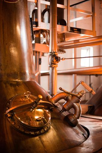 Highland Islands「Machines operating a whiskey distillery in Islay, Scotland 」:スマホ壁紙(19)