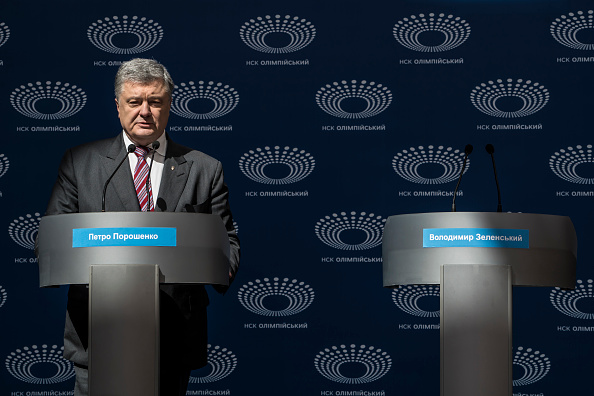 Brendan Hoffman「Petro Poroshenko Holds News Conference And Rally Ahead Of Presidential Election Run Off」:写真・画像(7)[壁紙.com]