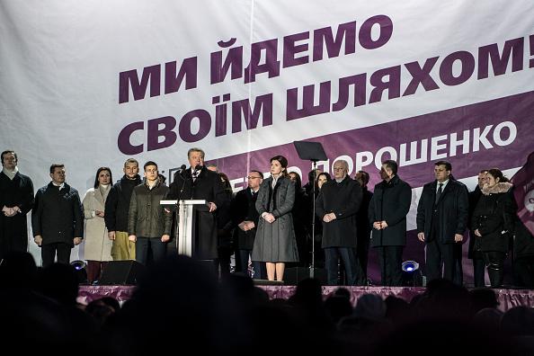 Brendan Hoffman「President Poroshenko Rallies Supporters Ahead of Vote」:写真・画像(3)[壁紙.com]