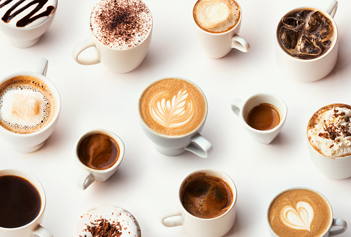 Abundance「Many different types of gourmet coffee, selection」:スマホ壁紙(0)