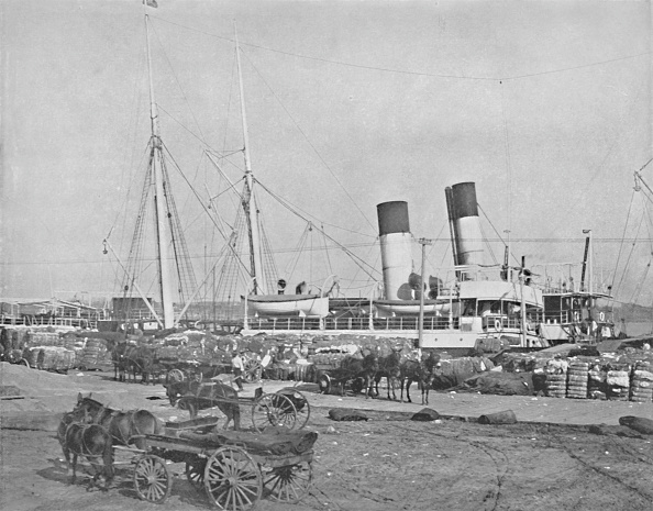 Steamboat「A Cotton Steamer At New Orleans」:写真・画像(4)[壁紙.com]