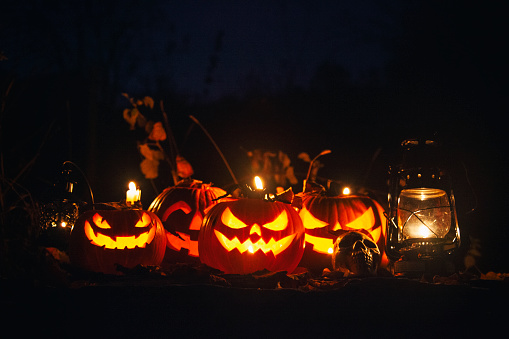 ハロウィンパーティー「ハロウィーンジャック-o-ランタンパンプキンズ」:スマホ壁紙(10)