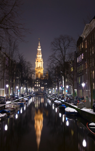 Amsterdam「Amsterdam at night」:スマホ壁紙(1)