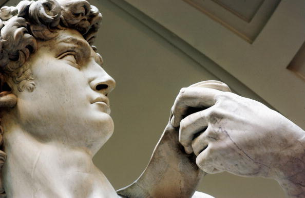 Sculpture「Restoration Work Completed On Michelangelo's David」:写真・画像(2)[壁紙.com]