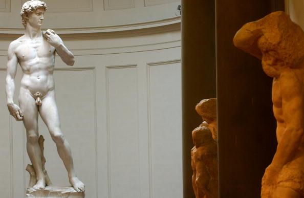 Michelangelo's David「Restoration Work Completed On Michelangelo's David」:写真・画像(2)[壁紙.com]