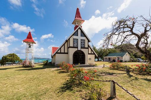 Mauritius「Mauritius, Cap Malheureux, Chapelle Notre-Dame-Auxiliatrice」:スマホ壁紙(12)