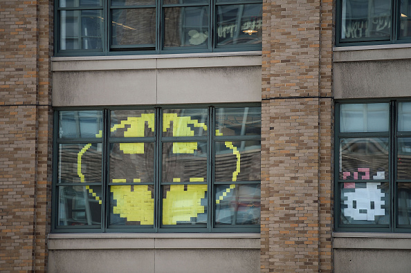 Adhesive Note「Lower Manhattan Offices Post-it Notes War」:写真・画像(17)[壁紙.com]
