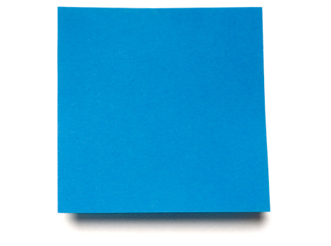 Adhesive Note「Post-it Note isolated on white」:スマホ壁紙(9)