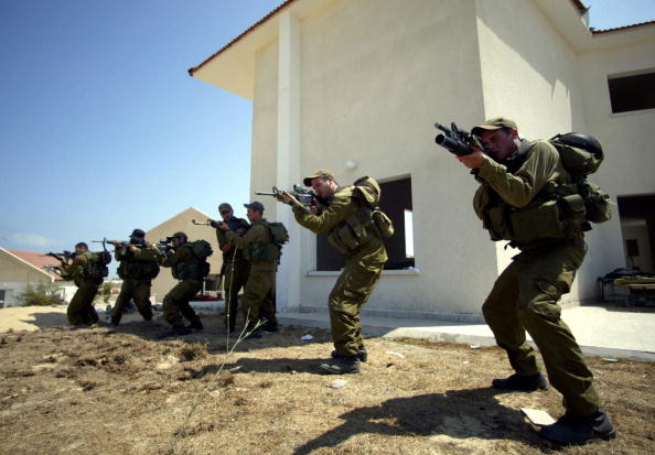 Gaza Strip「Israeli Forces Train To Prepare For Gaza Evictions」:写真・画像(18)[壁紙.com]