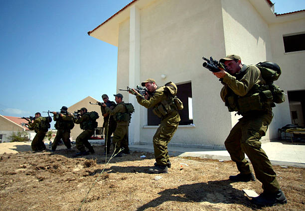Israeli Forces Train To Prepare For Gaza Evictions:ニュース(壁紙.com)