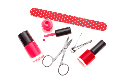 Polka Dot「Nail varnish and manicure set」:スマホ壁紙(9)