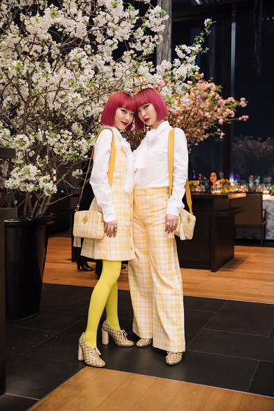 Checked Pants「Tory Burch Ginza Boutique Opening After Party」:写真・画像(14)[壁紙.com]