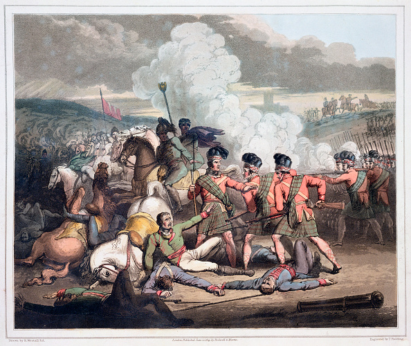 Kilt「Battle Of Vimeiro Portugal 1st August 1808 (1819)」:写真・画像(18)[壁紙.com]