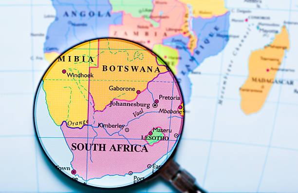 South Africa under loupe:スマホ壁紙(壁紙.com)