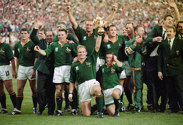 South Africa「South Africa 1995 Rugby World Cup Winners」:写真・画像(6)[壁紙.com]