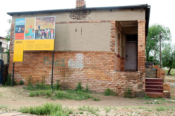 Hiding「South Africa. The Lollan house in Kliptown is where Nelson Mandela used to hide from apartheid security police force.」:写真・画像(3)[壁紙.com]