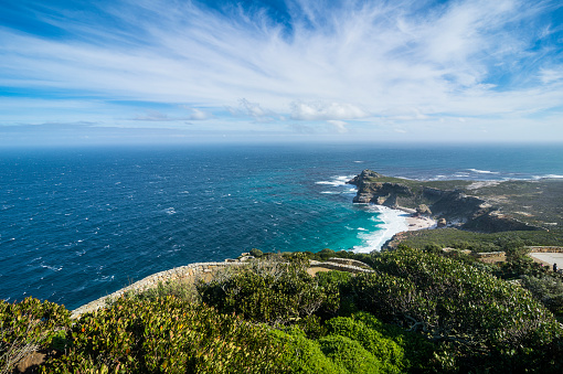 South Africa「South Africa, Cape of Good Hope, rocky cliffs on Cape point」:スマホ壁紙(19)