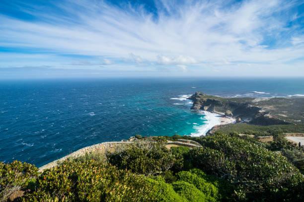 South Africa, Cape of Good Hope, rocky cliffs on Cape point:スマホ壁紙(壁紙.com)
