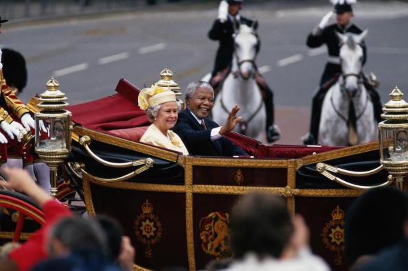 Photography Themes「Nelson Mandela's State Visit To London」:写真・画像(19)[壁紙.com]