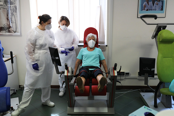 Recovery「Italy's Coronavirus Rehab Centre Tackling It's Lingering Effects」:写真・画像(4)[壁紙.com]