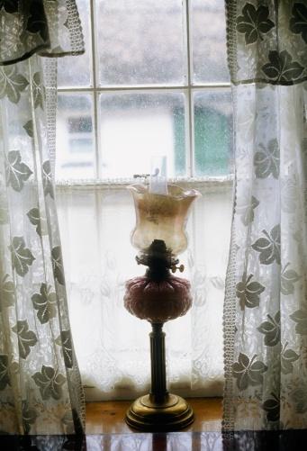 Gas Light「Ireland, Traditional Irish Cottages, Detail - Window」:スマホ壁紙(6)
