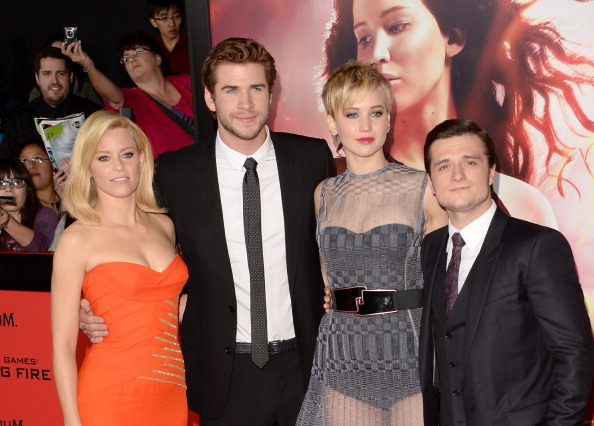 "PlayStation Theater - Manhattan「Premiere Of Lionsgate's ""The Hunger Games: Catching Fire"" - Arrivals」:写真・画像(3)[壁紙.com]"