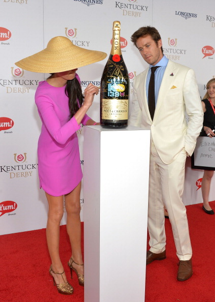 Armie Hammer「Moet & Chandon Toasts The 139th Kentucky Derby - Day 2」:写真・画像(13)[壁紙.com]