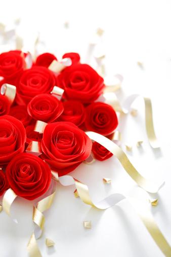 恋愛運「Bouquets of roses」:スマホ壁紙(0)