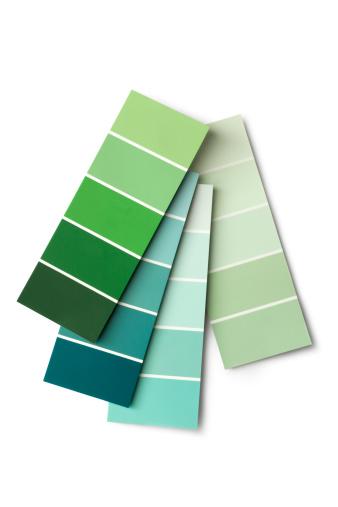 Color Swatch「Paint: Colour Samples Green」:スマホ壁紙(1)