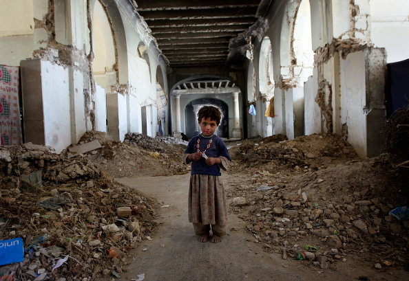 Kabul「Displaced Afghans Camp In Ruins Of Afghan National Palace」:写真・画像(13)[壁紙.com]