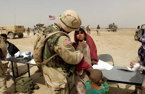 Support「U.S. Army Performs Weekly Medical Missions In Afghanistan」:写真・画像(7)[壁紙.com]