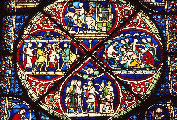 Window Detail In Trinity Chapel:ニュース(壁紙.com)